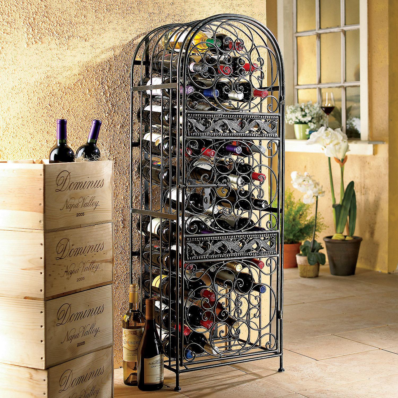 Wrought Iron Wine Jail Preparing Zoom