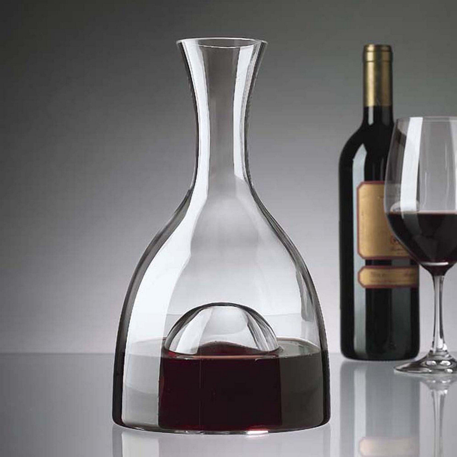 modern decanters - visual wine decanter wine enthusiast
