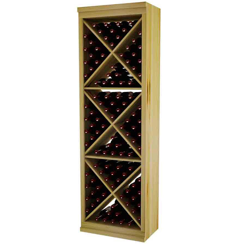 Sonoma Designer Wine Rack Kit - Solid Diamond Cube With Face Trim ...