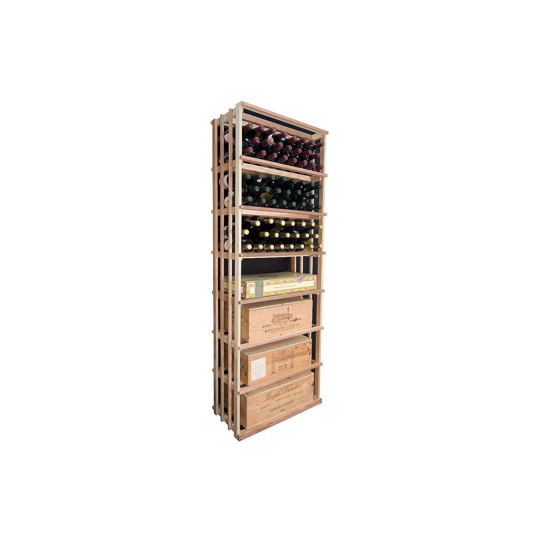 sonoma designer wine rack kit 6u0027 vertical wine bin