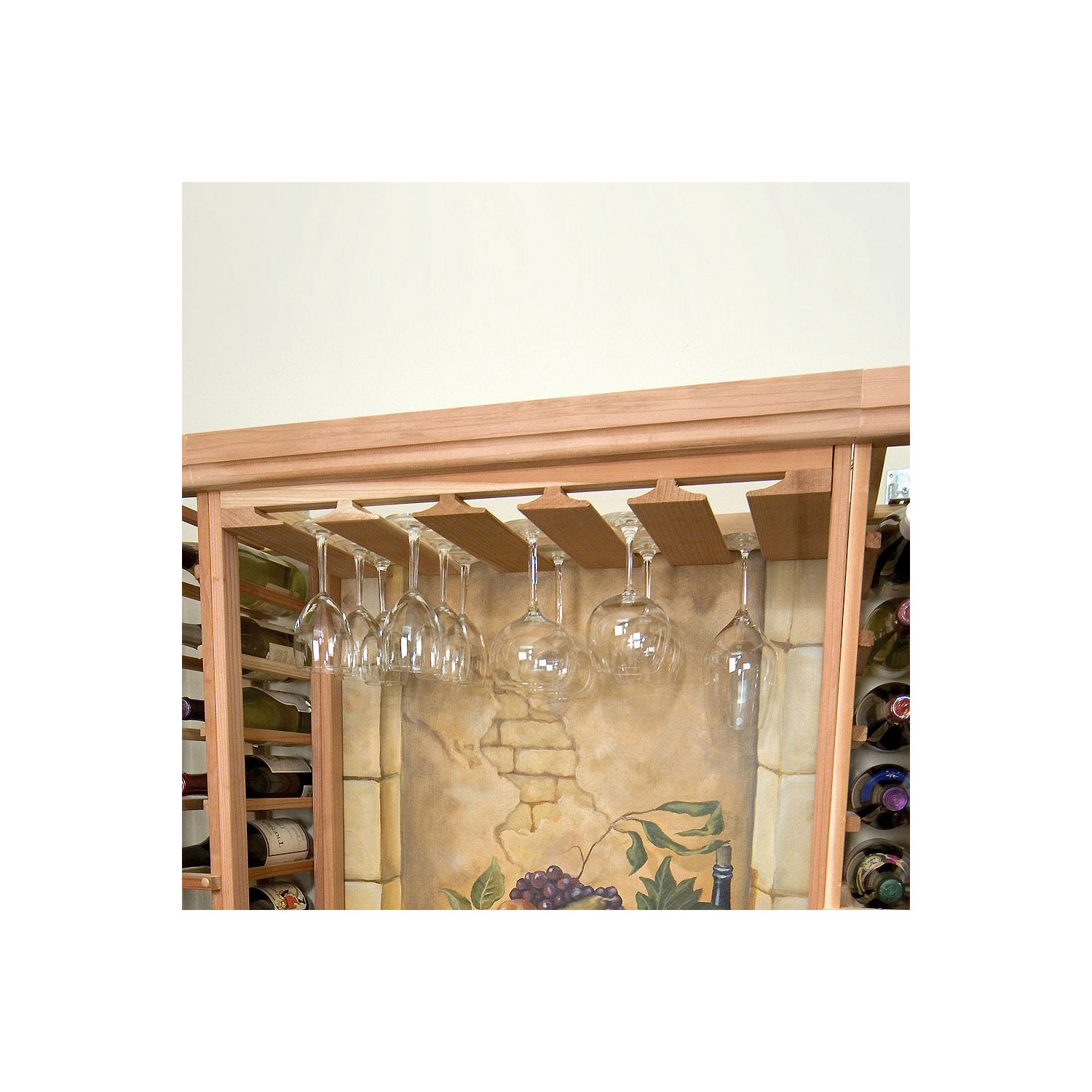 hand noblebrothers noble crafted diy by furniture rack made wine brothers glass custom