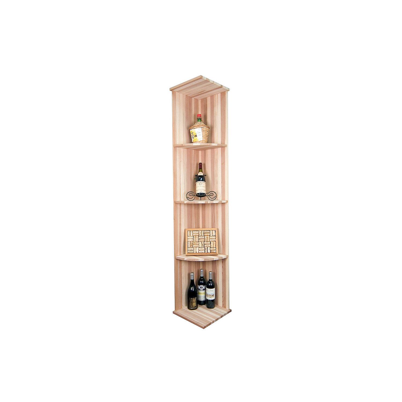 sonoma designer wine rack kit vertical quarter round shelf rack