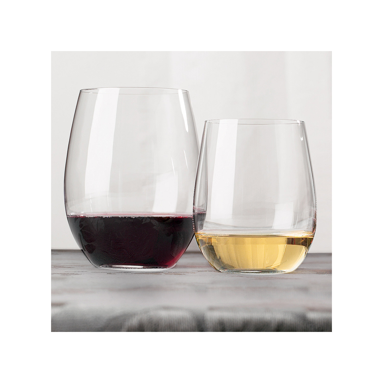 Riedel stemless chardonnay glasses