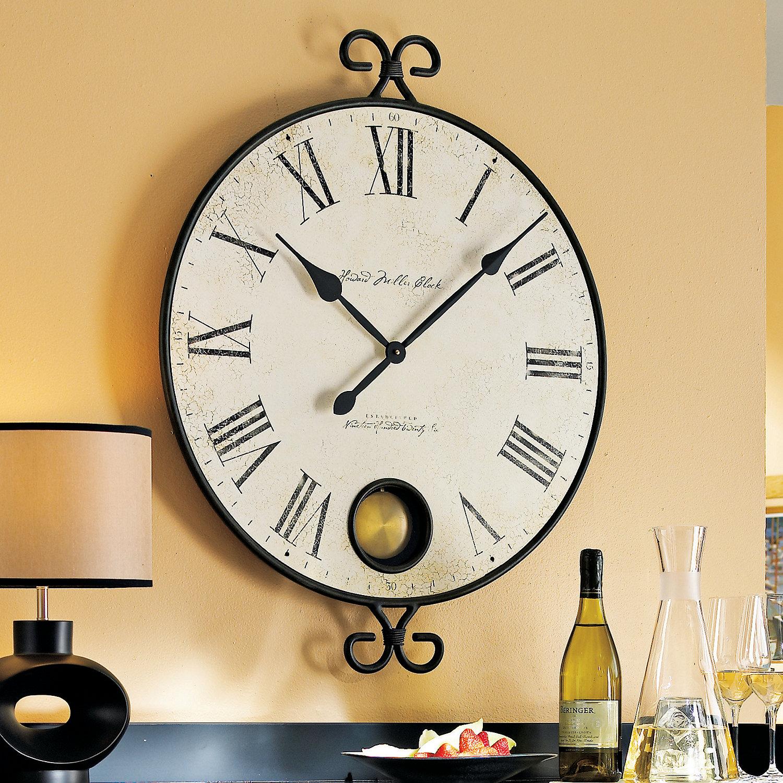 Howard miller magdalen wall clock wine enthusiast preparing zoom amipublicfo Choice Image