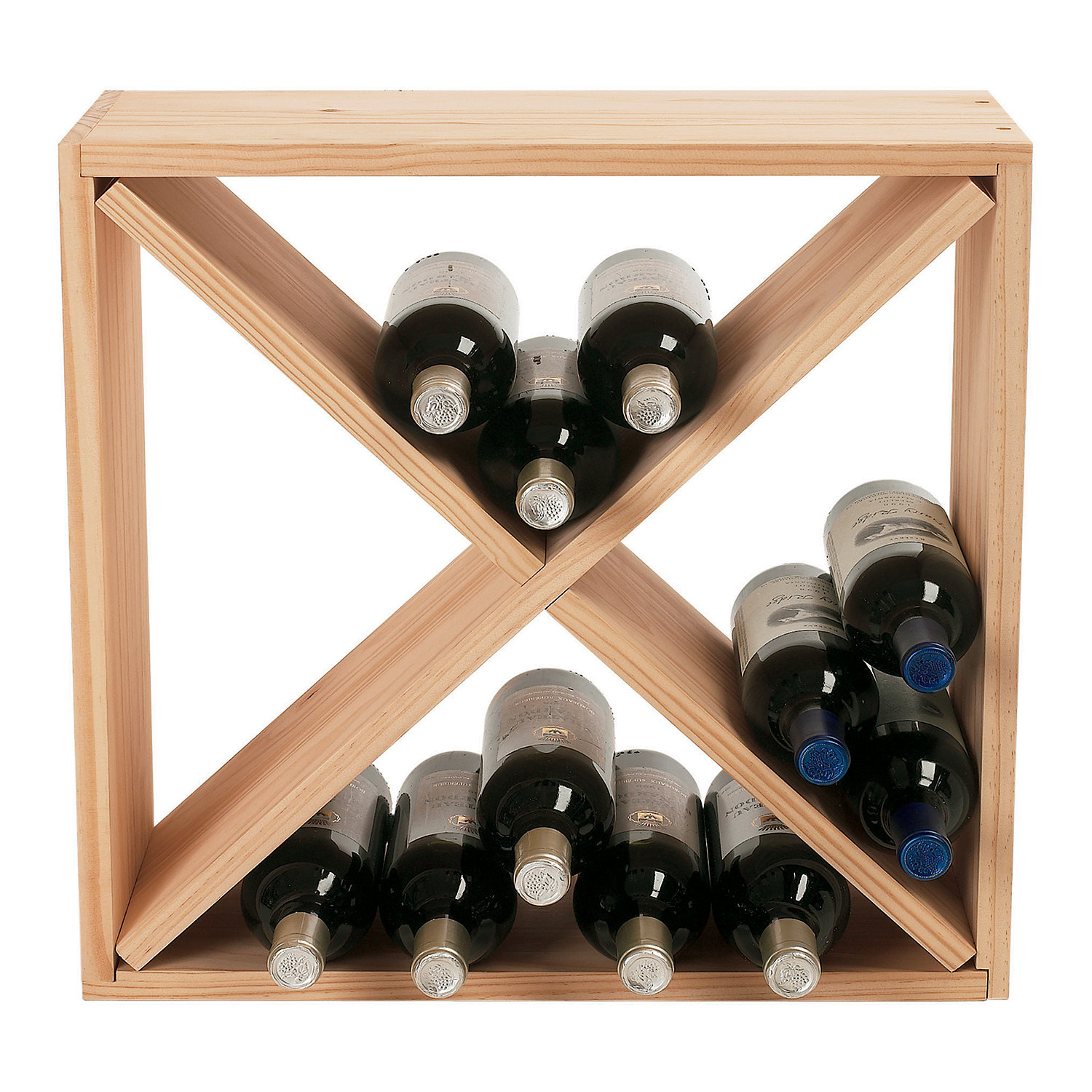 wall diy easy guide wine patterns rack plans