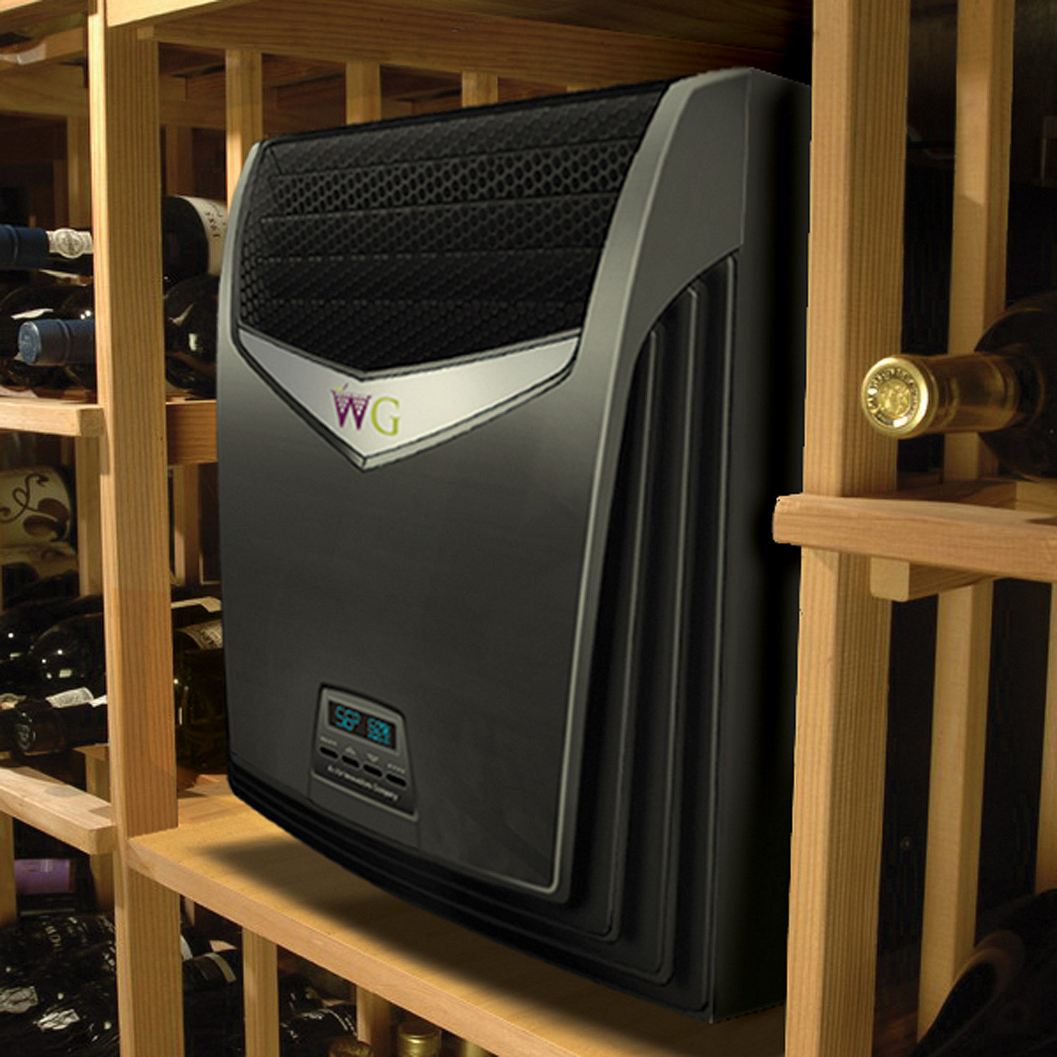 Wine Guardian TTW009 Through-the-Wall Wine Cellar Cooling Unit & Through The Wall Wine Cellar Cooling Units - Wine Enthusiast
