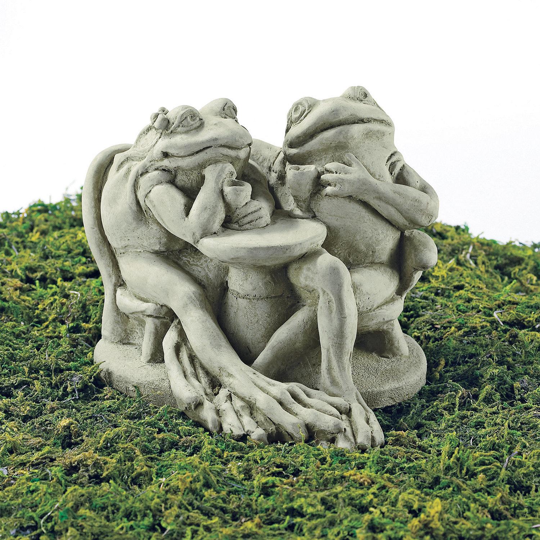 Design Garden Statue tipsy toads garden statue wine enthusiast preparing zoom