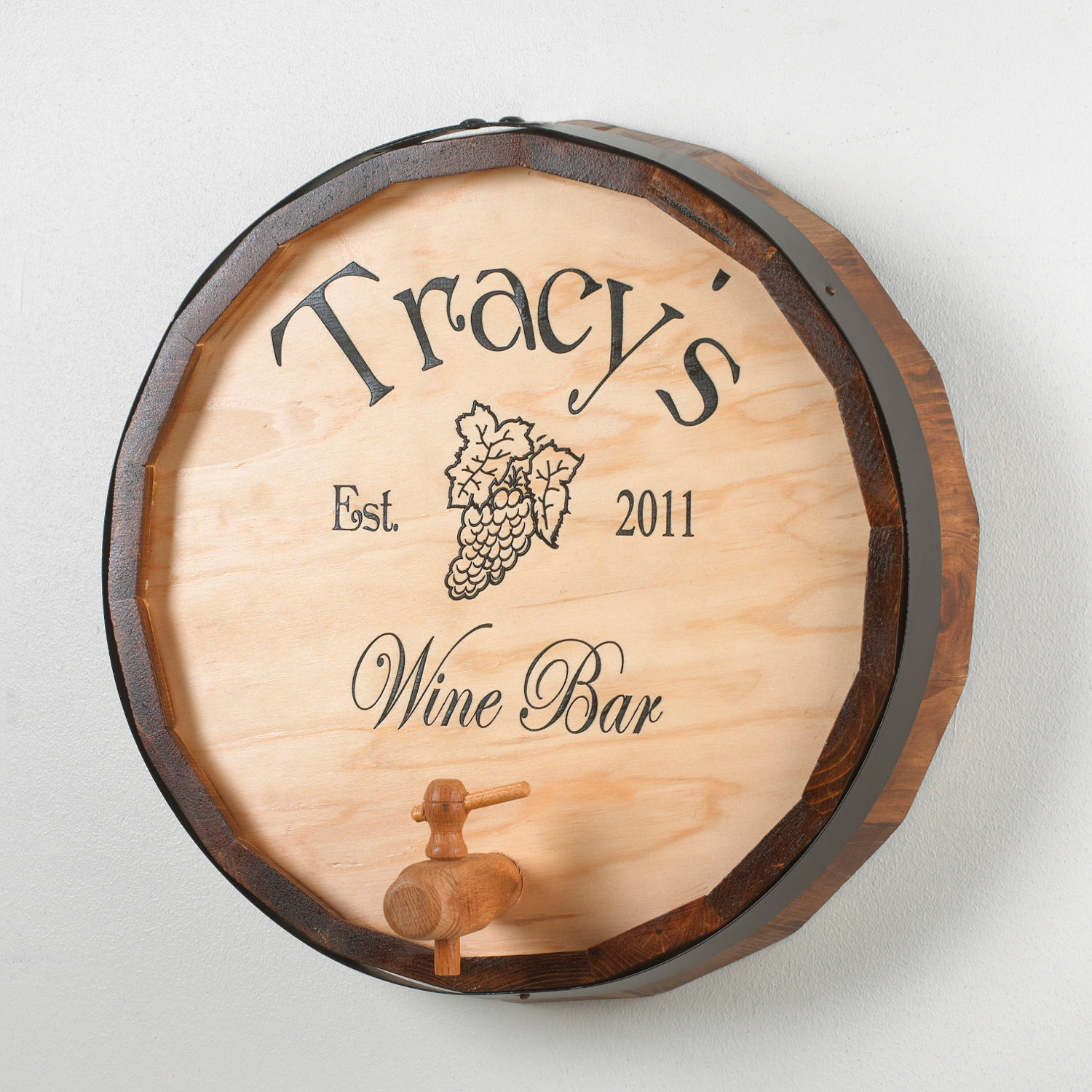Wine Barrel Wall Art signs & wall décor | home décor | housewares - wine enthusiast