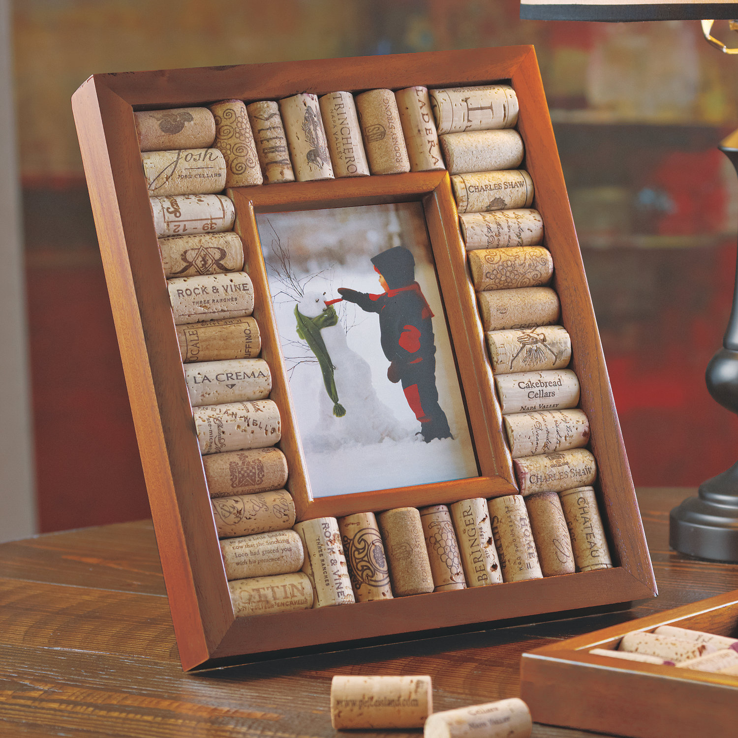 Wine Cork Picture Frame Kit 4x6 photo