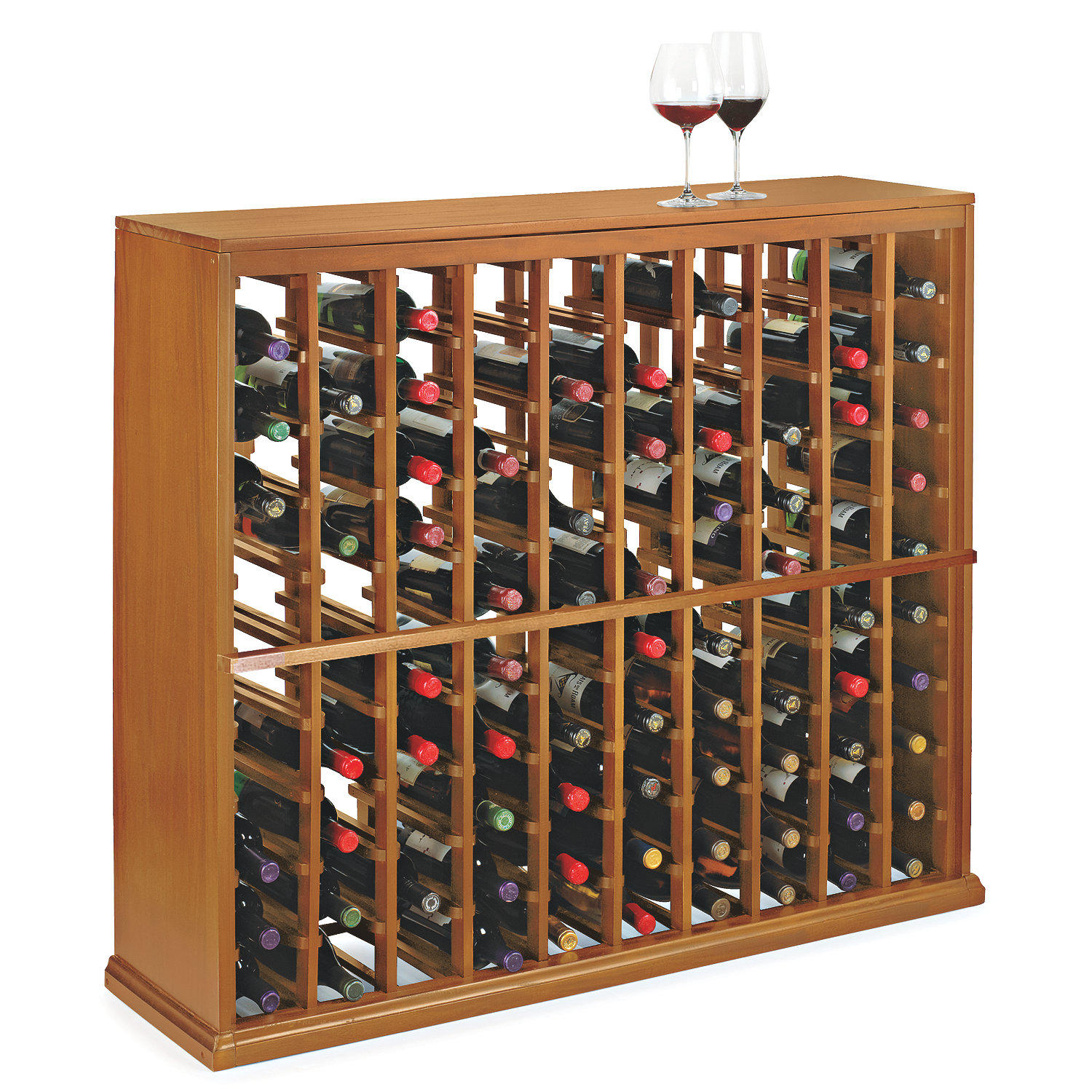 diy with wooden the rack plans wine