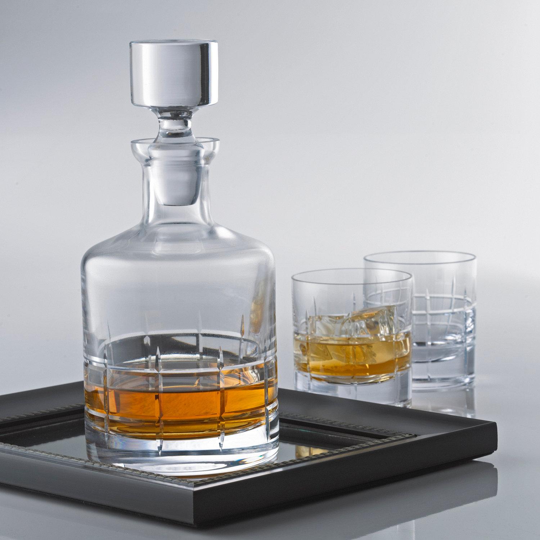 glass whisky decanter kitchen and dining room. Black Bedroom Furniture Sets. Home Design Ideas