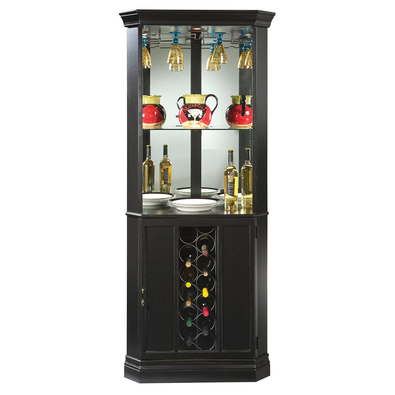 Howard Miller Piedmont II Wine Bar & Cabinet - Wine Enthusiast