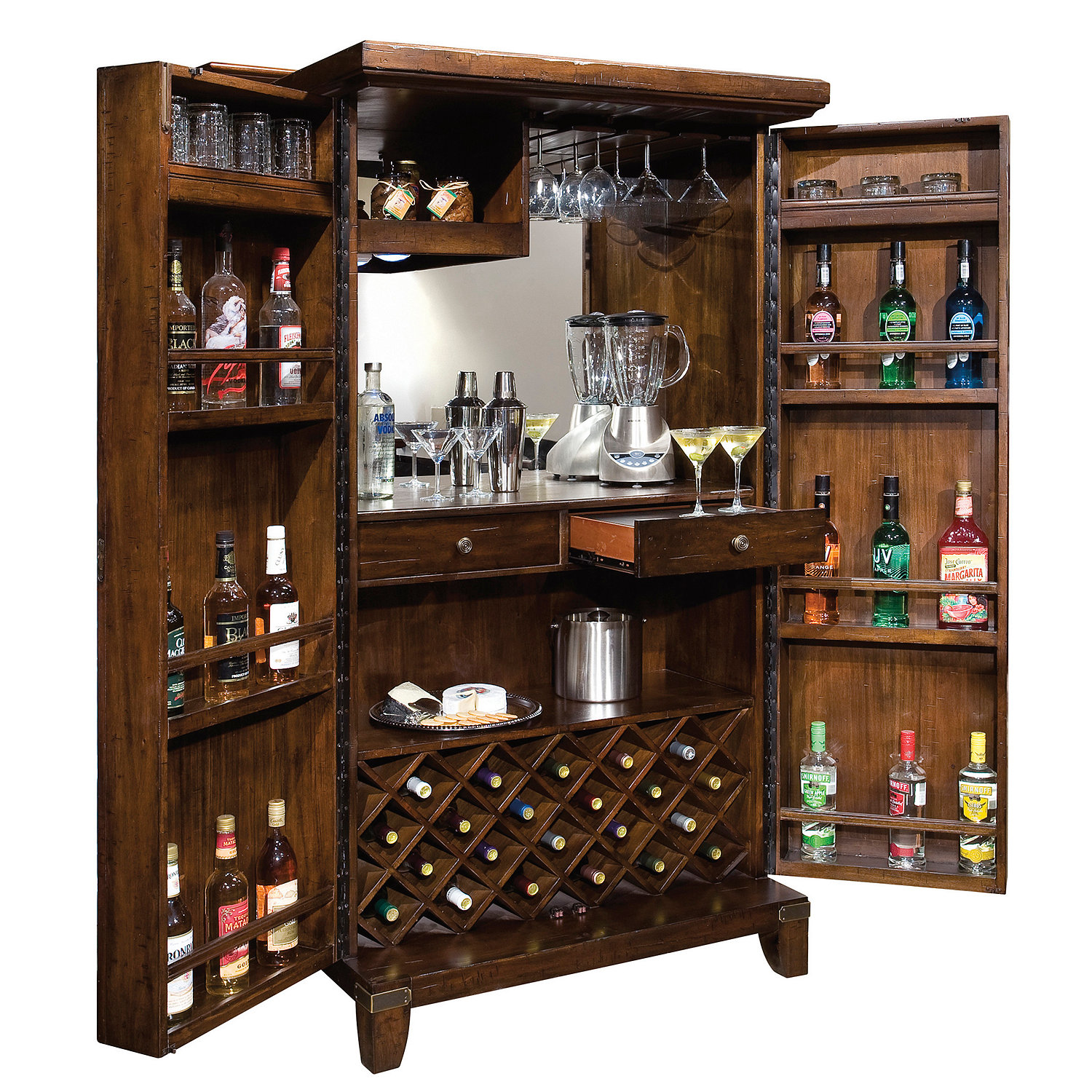 Howard Miller Rogue Valley Wine Bar Cabinet Wine Enthusiast