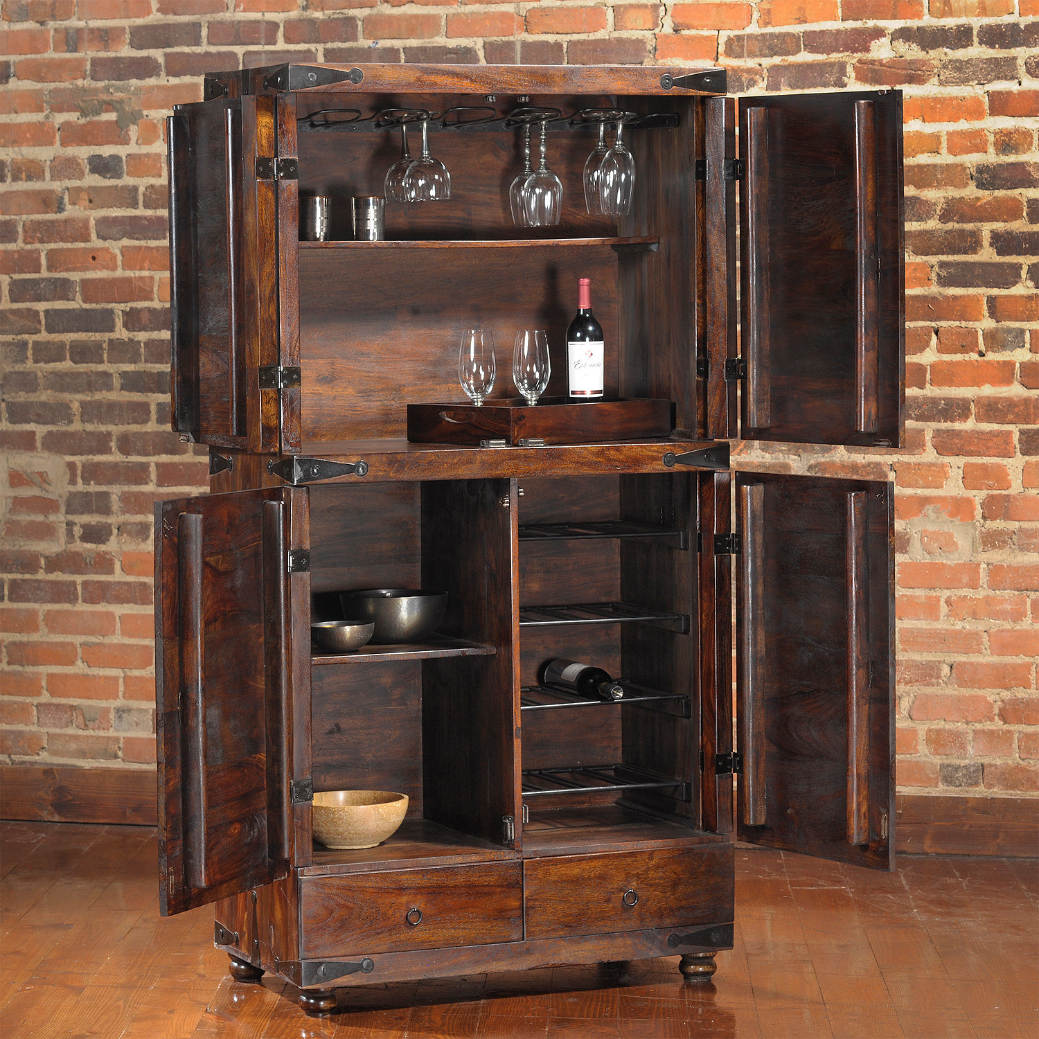 Thakat Bar Cabinet - Wine Enthusiast