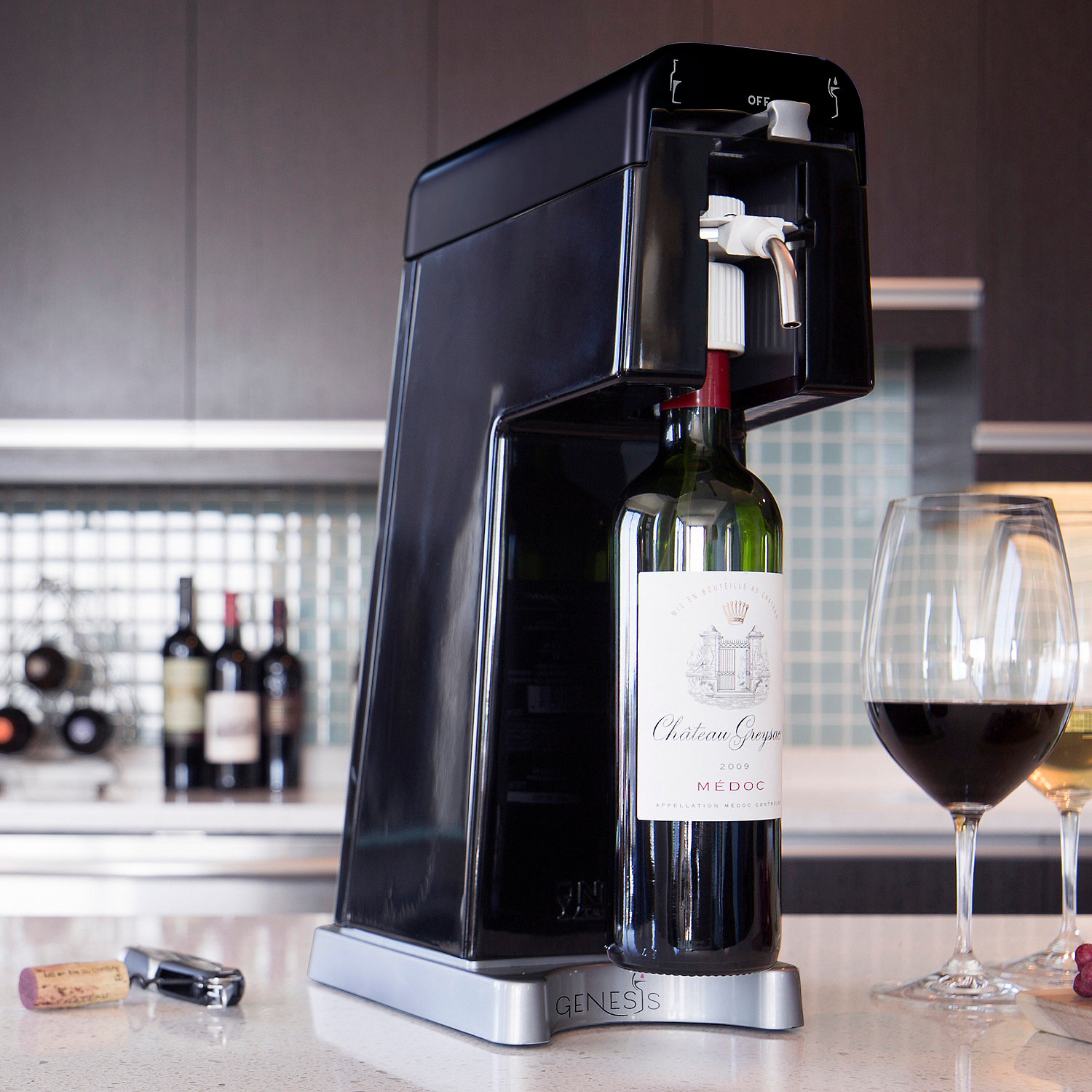 GENESIS Preservation and Wine Dispensing System - Wine Enthusiast