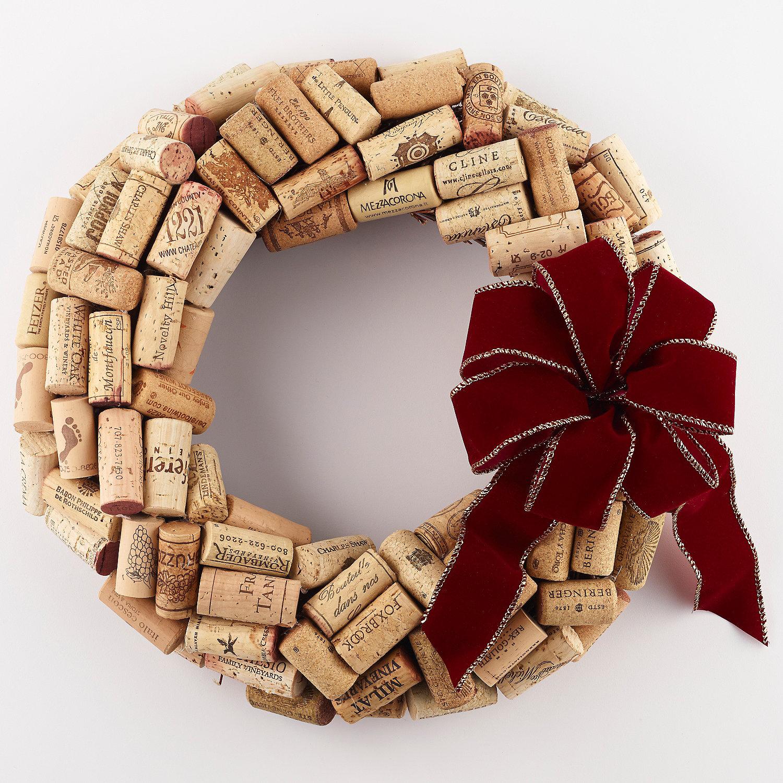 Wine Cork Wreath Craftbnb