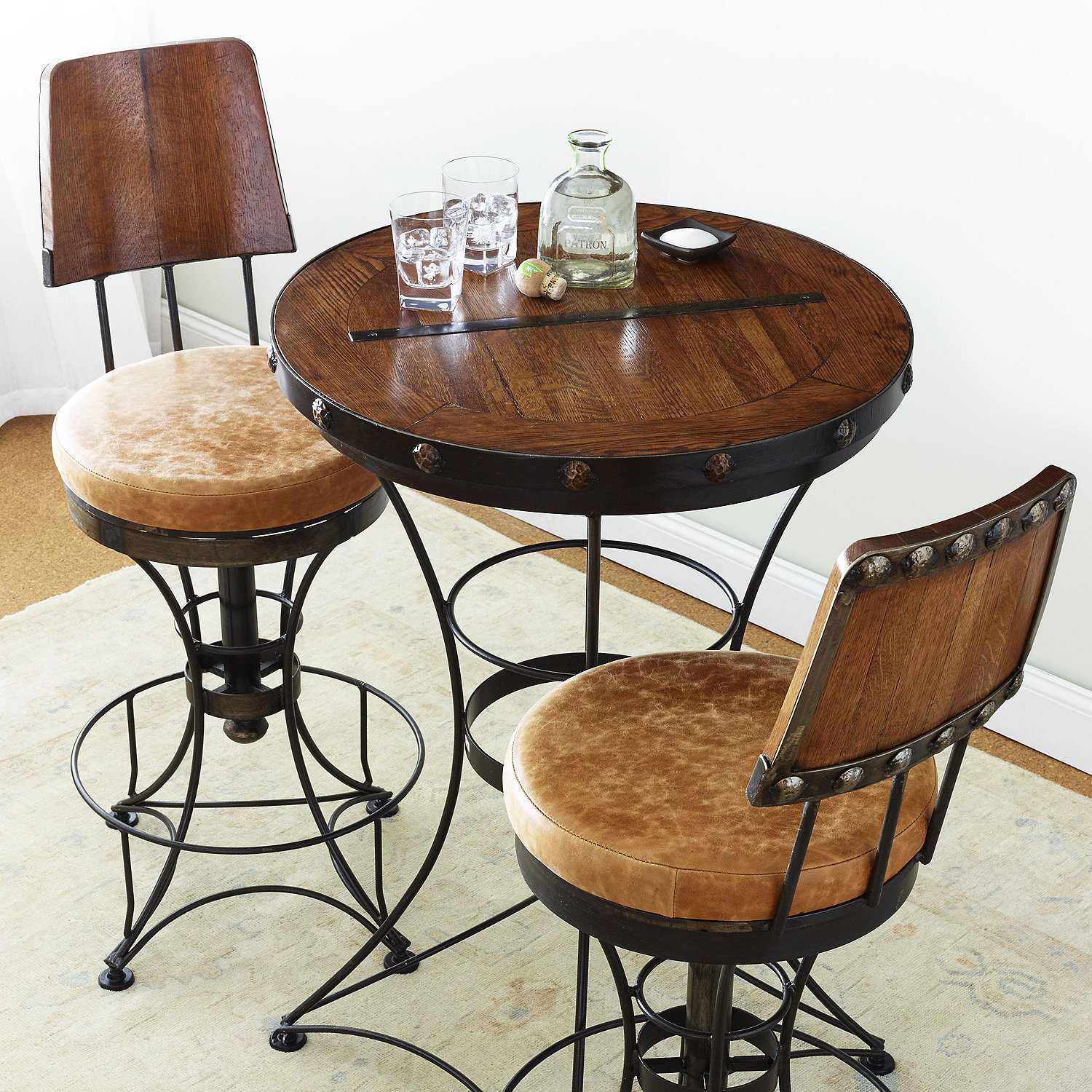 Cantina tasting table stools wine enthusiast preparing zoom workwithnaturefo