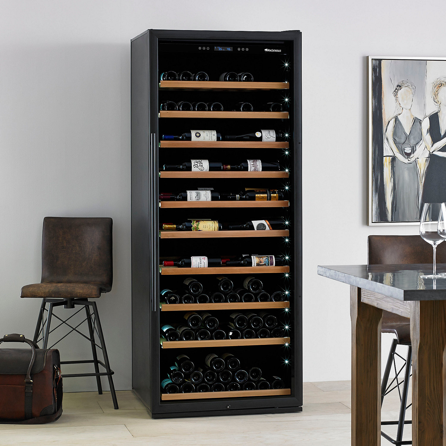 Under cabinet plate rack plans free - Classic Xl 300 Bottle Wine Cellar With Vinoview Shelving