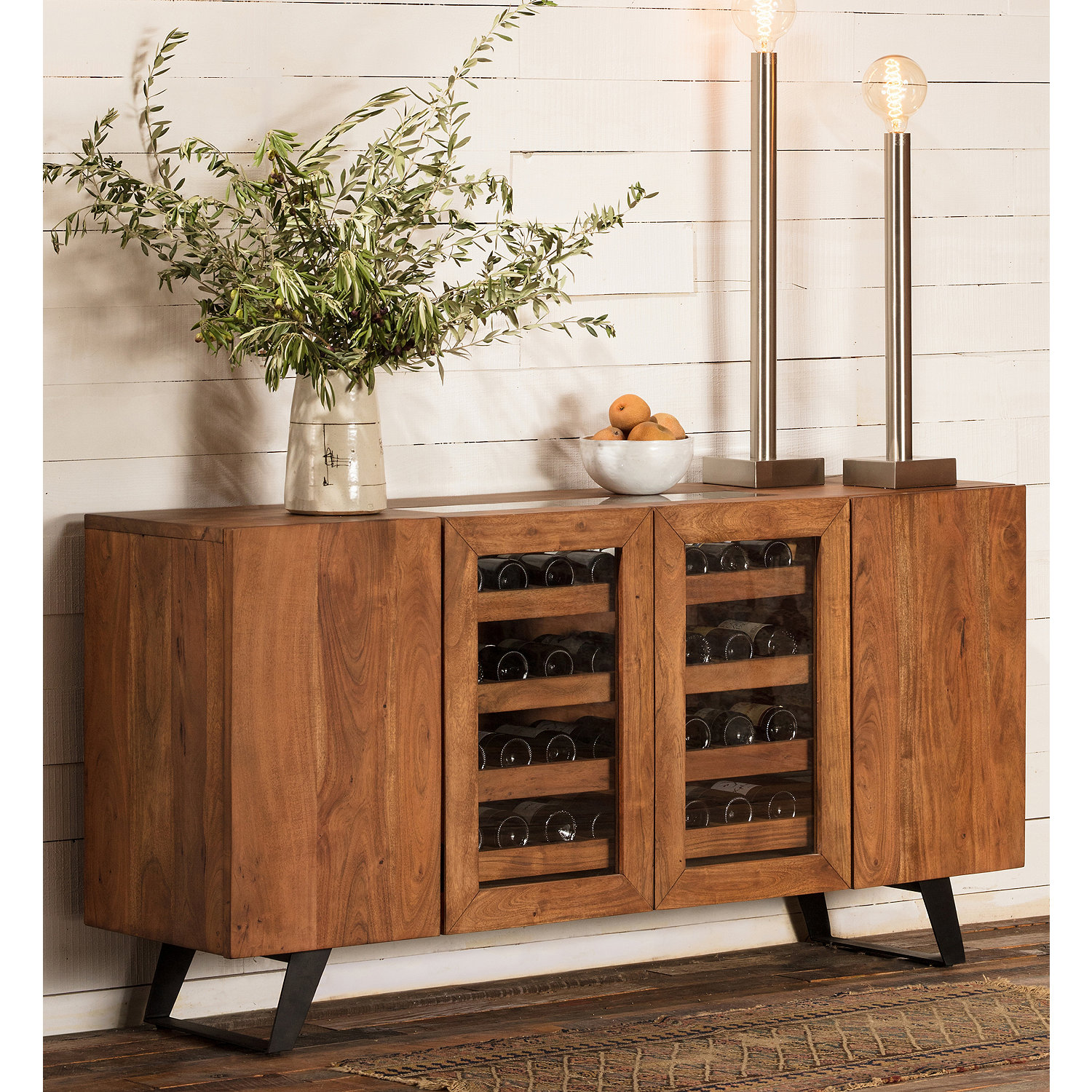 ... Wine Storage Credenza. SALE. Preparing Zoom & Cassis Wine Storage Credenza - Wine Enthusiast