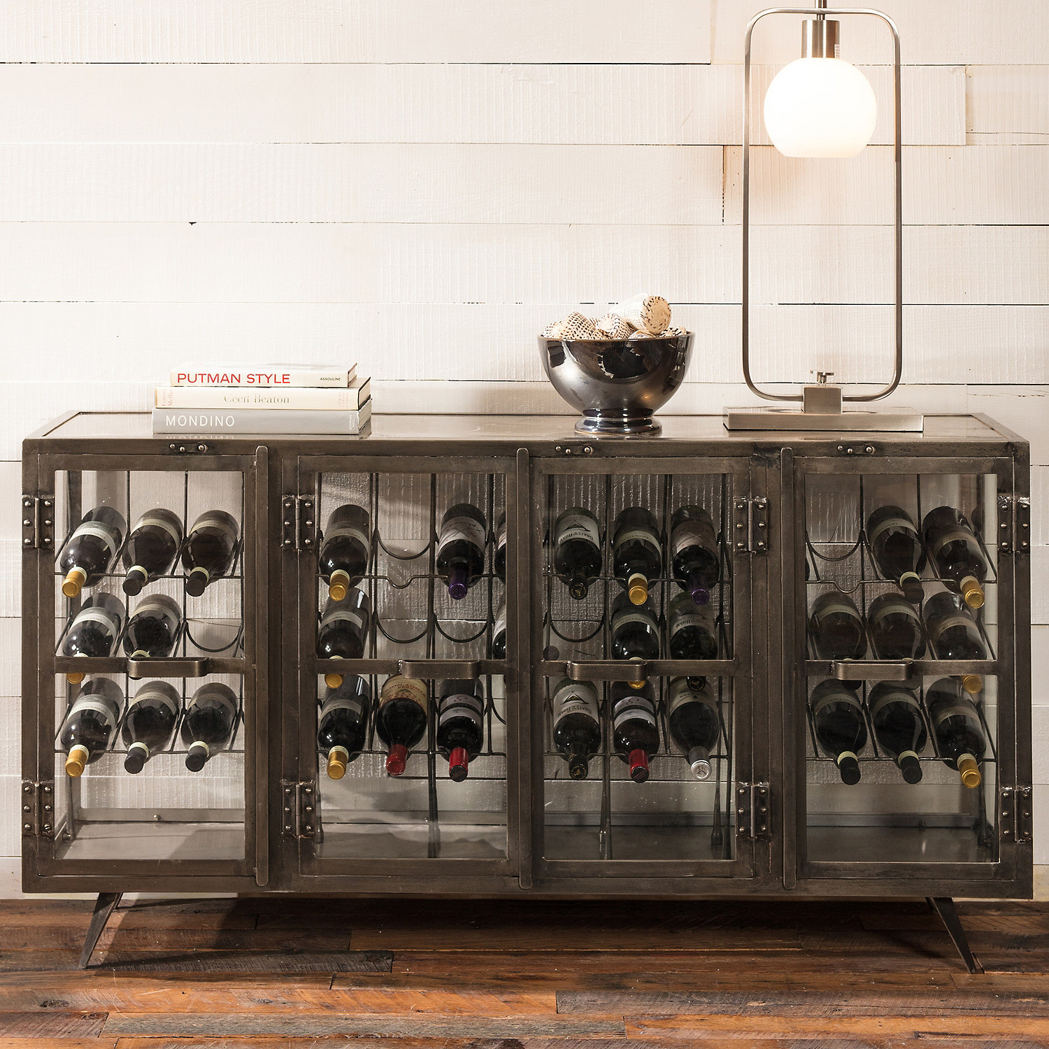 ... Hermitage Wine Storage Credenza. SALE. Preparing Zoom & Hermitage Wine Storage Credenza - Wine Enthusiast
