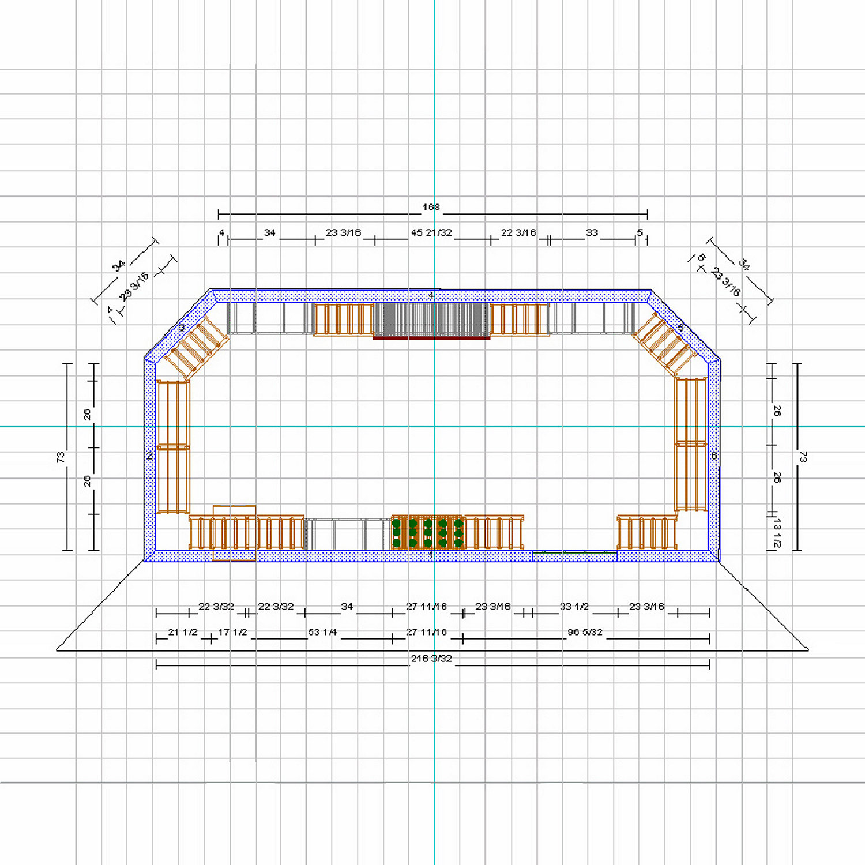 Custom Wine Cellar 2 Dimensional Design - Wine Enthusiast