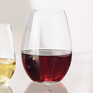 Riedel 'O' Syrah/Shiraz Stemless Wine Glasses (Set of