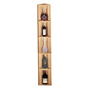 Redwood Modular Wine Rack Kit - Corner Display