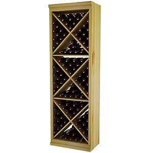 Designer Wine Rack Kit - Solid Diamond Cube