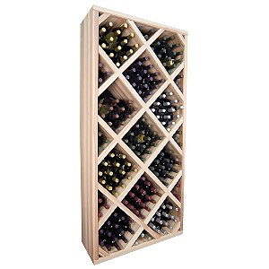 Designer Wine Rack Kit - Diamond Bin With