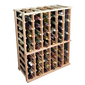 Designer Wine Rack Kit - 6 Column Half