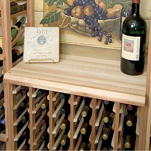 Designer Wine Rack Kit - Wood Table Top