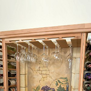 Designer Wine Rack Kit - Wine Glass Stemware