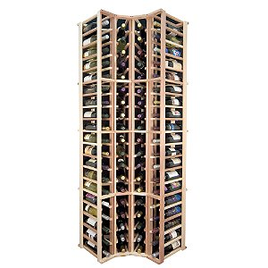 Designer Wine Rack Kit - 4 Column Corner