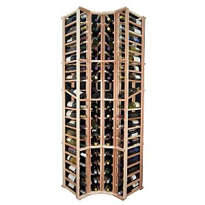 Designer Wine Rack Kit - 4 Column Curved