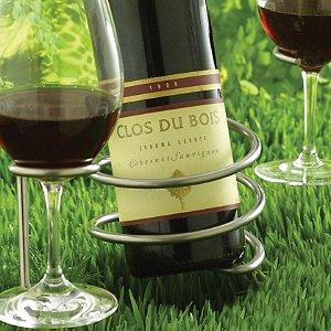 Steady Sticks Outdoor Wine Bottle Holder