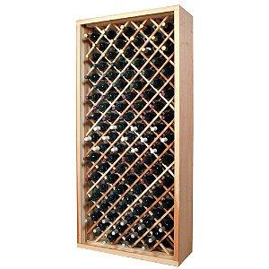 Designer Wine Rack Kit - 90 Bottle Individual