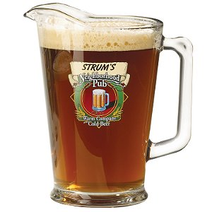Personalized Neighborhood Pub Pitcher