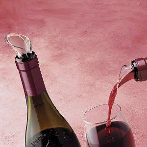 Vacu Vin Lucite Wine Pourer (Set of 2)