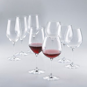 Fusion Classic Red Wine Glass Collection (Set of