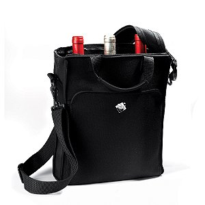 3 Bottle Neoprene Wine Tote Bag