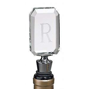 Personalized 1 Initial Bottle Stopper