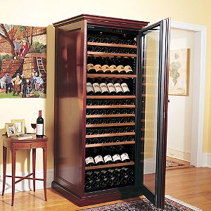 EuroCave Elite Wine Cellar (Mahogany - Glass Door)