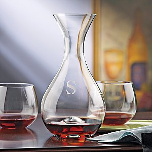Personalized Wine Enthusiast U Wine Decanter