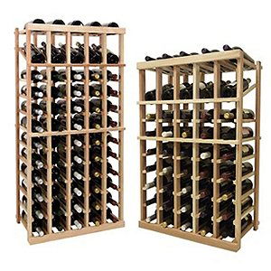 Napa Vintner Stackable Wine Rack - 5 Column
