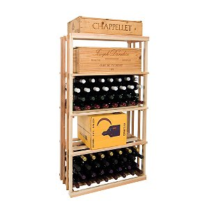 Napa Vintner Stackable Wine Rack - Rectangular Bin