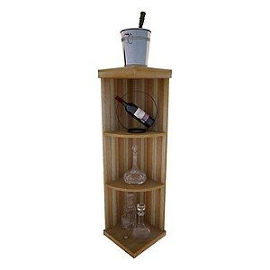 Napa Vintner Stackable Wine Rack - Quarter Round