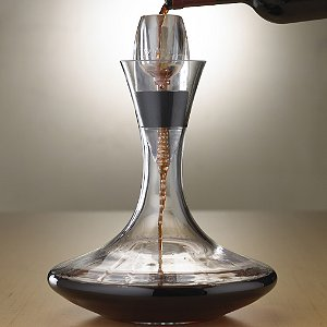 Vivid Wine Decanter & Vinturi Red Wine Aerator