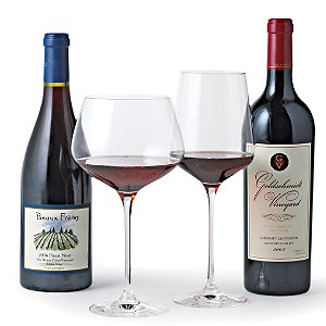 Fusion Infinity Red Wine Glass Collection (Set of