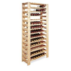 Swedish 126 Bottle Wine Rack