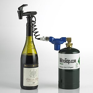 NitroTap Single Bottle Wine Service & Preservation System